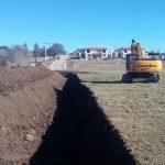 Construcción de una defensa hídrica para barrio La Cancha