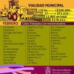Vialidad Municipal presenta infografía sobre su trabajo