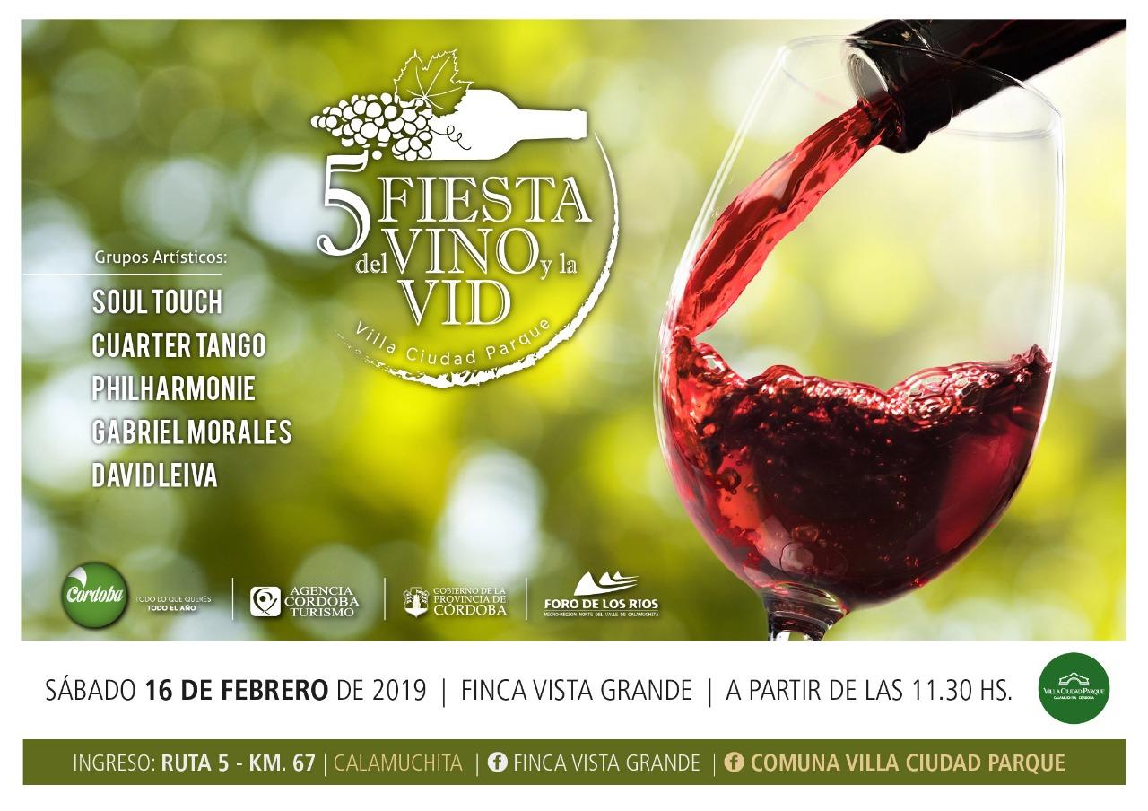 5º Fiesta del Vino y la Vid