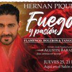 """Llega a Villa General Belgrano Hernán Piquín con """"Fuego y Pasión"""""""