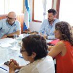 Reunión de trabajo con representantes del Valle de Calamuchita